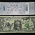 $1 bill signed by The Family Ruin. Gig ticket of the day it was signed. Other Collectable