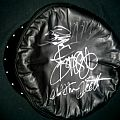 Judas Priest Signed: Leather Hell Bent For Leather Hat Battle Jacket