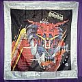 Backdrop for Defenders of the Faith 1984 tour. 5ft Banner.
