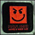 Have a nice day Bon Jovi Patch. 2006