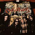 Sepultura chaos ad vintage shirt empire merchandising 90's