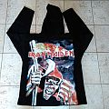 Iron maiden sands of time hooded  sweat shirt official