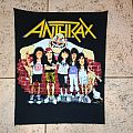 Anthrax vintage back patch