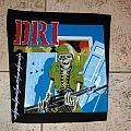 D.R.I. vintage back patch