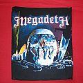 Megadeth killing is my business...back patch vintage
