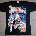 Iron Maiden sands of time official shirt