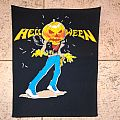 Helloween vintage back patch