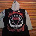 Deicide legion hooded sweat shirt empire merchandise 1994 NEW & UNWORN