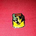 Ozzy Osbourne bark at the moon vintage  Pin / Badge