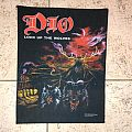 Dio lock up the wolves vintage back patch