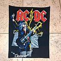 AC/DC vintage back patch
