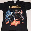Hammerfall crimson thunder shirt 2002