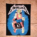 Metallica ride the lighting vintage back patch