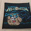 Helloween helloween mini lp woven patch vintage 80's