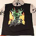Slayer root of all evil hooded sweat shirt
