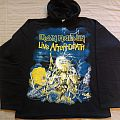 Iron Maiden live after death official hooded sweat shirt