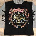 Slayer divine intervention hooded sweat shirt 90's