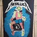 Metallica - Patch - Metallica ride the lighting back patch