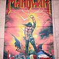 Manowar - Other Collectable - Manowar Kings of Metal flag