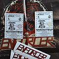 Enforcer Tickets, Stickers, Poster & Card postal-style Photos