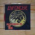 "Enforcer - Mesmerized By Fire 7"" Vinyl Disc 2013"