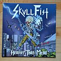 Skull Fist - Heavier Than Metal EP Limited (350 copies) Vinyl Disc with Sticker