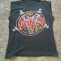 Slayer - TShirt or Longsleeve - SLAYER - Reign in Blood Euro Tour 1987