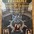 PESTILENCE Testimony promo poster  Other Collectable