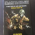 IRON MAIDEN A Matter of Life and Death 2006 World Tour Book  Other Collectable