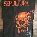 SEPULTURA Beneath Back patch 1991
