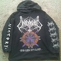 Unleashed - Hooded Top - UNLEASHED - Odin Guide My Sword HSW 1995 EU Tour