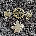 Puissance - Pin / Badge - PUISSANCE official silver pins