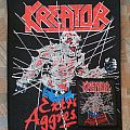 Kreator - Extreme Aggression Back- and small Patch!!!