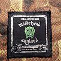 Motörhead - Nö sleep at all European Tour Patch 1989 England