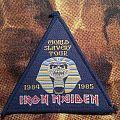Iron Maiden - World Slavery Tour Patch