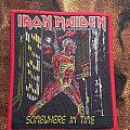 Iron Maiden - Somewhere in Time red border Patch