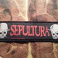 Sepultura - Death from the Jungle Stripe Patch