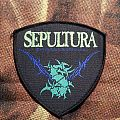 Sepultura Logo Shield Patch