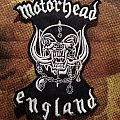 Motörhead - England Patch