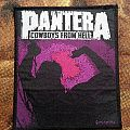 Pantera - Cowboy from Hell Patch