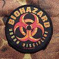 Biohazard - Urban Discipline Patch
