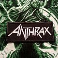 Anthrax Logo Patch