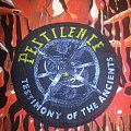 Pestilence - Testimony Of The Ancients circle patch