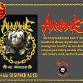 """Ahvawe """"Dirty Motherfuckers"""" A5 Delux CD Tape / Vinyl / CD / Recording etc"""