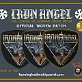 """Iron Angel """"Winds Of War"""" Official Woven Patch"""