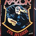Razor - Evil Invaders Official Backpatch