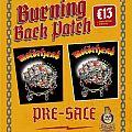 Motörhead - Patch - Motorhead Iron Fist Vintage Style BP