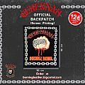 "Gehennah ""Decibel Rebel"" Official Backpatch"