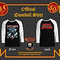 Anti-cimex Country Of Sweden Official Baseball Tshirt