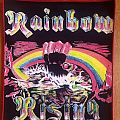 Rainbow - Rising vintage Style Backpatch